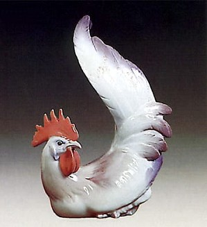 Lladro-Rooster