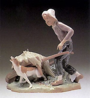 Lladro-Gardener in Trouble