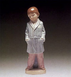 Lladro-Boy with Robe