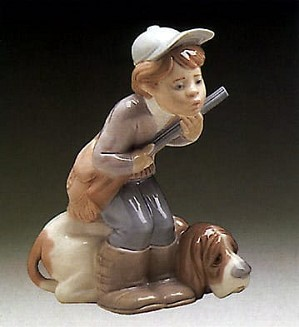 Lladro-Hunter Puppet