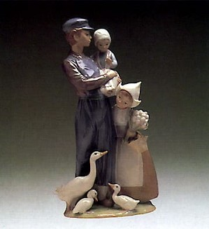 Lladro-Dutch Children