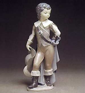 Lladro-Courtier Boy