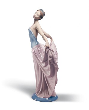 Lladro-Dancer Woman