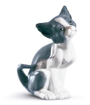 Lladro-Cat