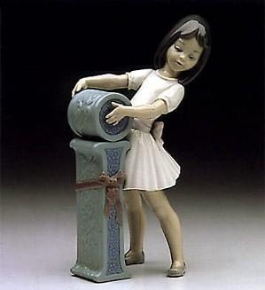 Lladro-Schoolgirl I