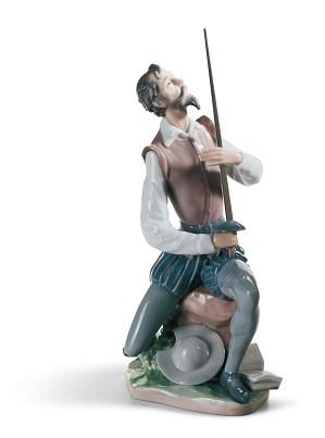 Lladro-Oration Quixote