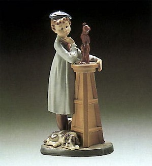 Lladro-Little Sculptor
