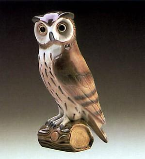 Lladro-Short Eared Owl
