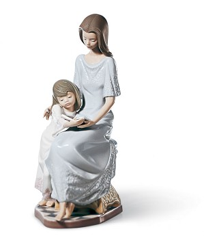 Lladro-Bedtime Story