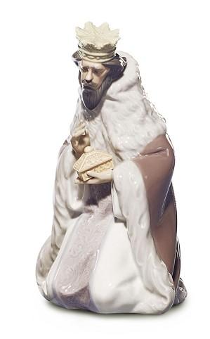 Lladro-King Gaspar Nativity II