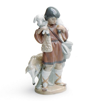 Lladro-Shepherd Boy