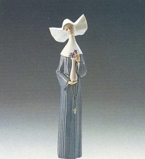 Lladro-Serene Moment (Blue)