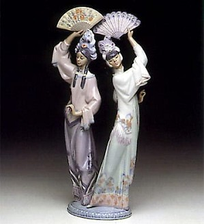 Lladro-Singapore Dancers