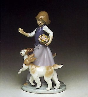 Lladro-Out For a Romp