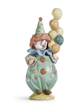 Lladro-Littlest Clown