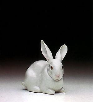 Lladro-Attentive Bunny