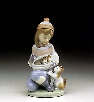 Lladro-Friday's Child (Girl)