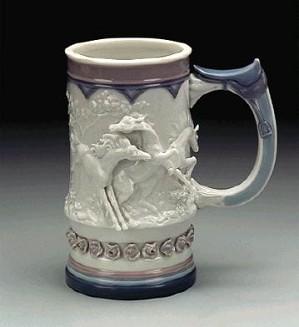Lladro-Born Free Mug