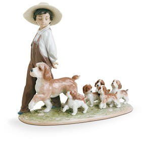 Lladro-MY LITTLE EXPLORERS