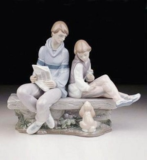 Lladro-My Time With Dad