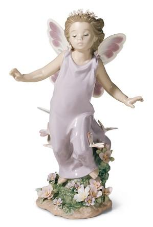 Lladro-Butterfly Wings Fairy