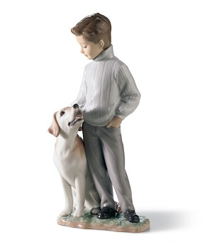 Lladro-MY LOYAL FRIEND