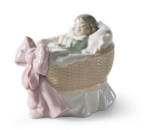 Lladro-A NEW TREASURE (GIRL)