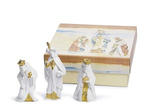 Lladro-SET THREE WISE MEN (RE-DECO)