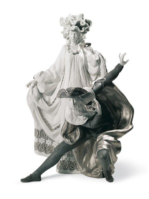 Lladro-Venetian Carnival