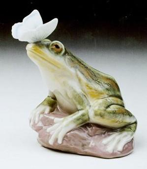 Lladro-Spring Frog