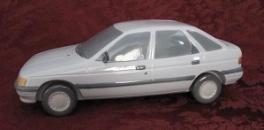 Lladro-1990 Ford Escort (Blue/Grey)