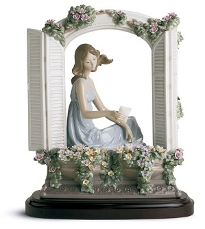 Lladro-THINKING OF LOVE