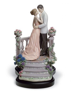 Lladro-Moonlight Love