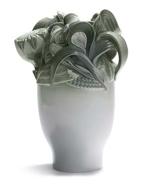Lladro-Naturofantastic - Small Vase (Green)