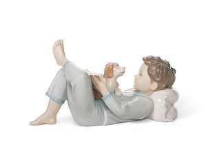 Lladro-SHALL I READ YOU A STORY?