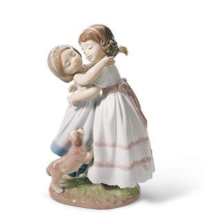 Lladro-Give me a hug!