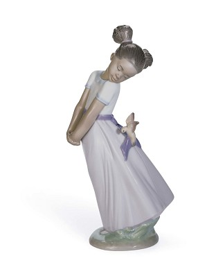 Lladro Black Legacy-PRETTY BIRD!