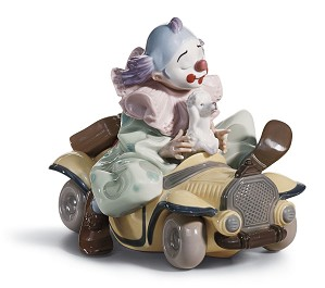 Lladro-Trip to The Circus Clown