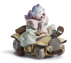 Lladro-Trip to The Circus Clown