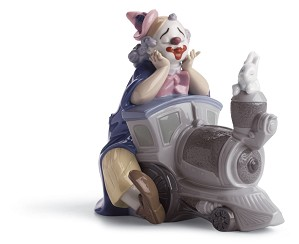 Lladro-Circus Express Clown