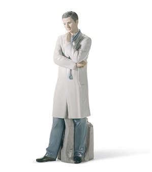 Lladro-Male Doctor