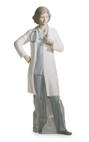 Lladro-Female Doctor