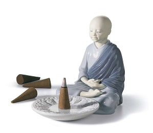 Lladro-Incense Burner (Blue)