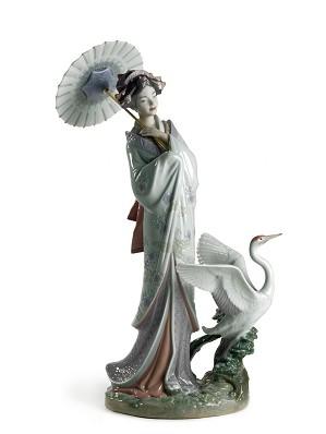 Lladro-Japanese Portrait