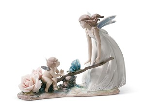 Lladro-Summer Rhythm Fairy