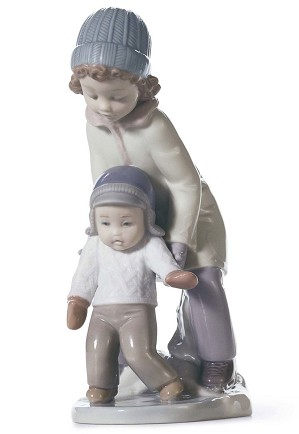 Lladro-You Can Do It!