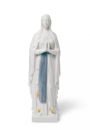Lladro-Our Lady of Lourdes