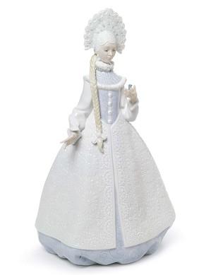 Lladro-Snow Maiden