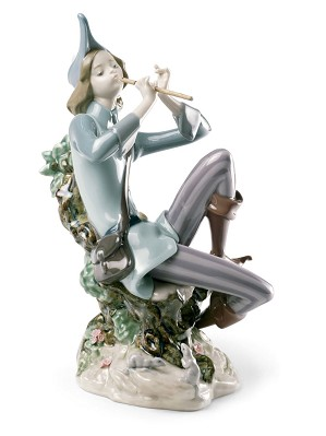 Lladro-The Pied Piper of Hamelin