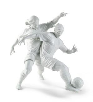 Lladro-Champions Team Footballers